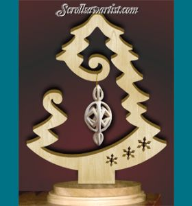 Scroll Saw Patterns :: Holidays :: Christmas :: Trees :: Ornament tree #6 -