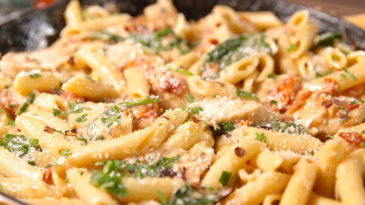 Chicken Florentine Pasta  - Delish.com