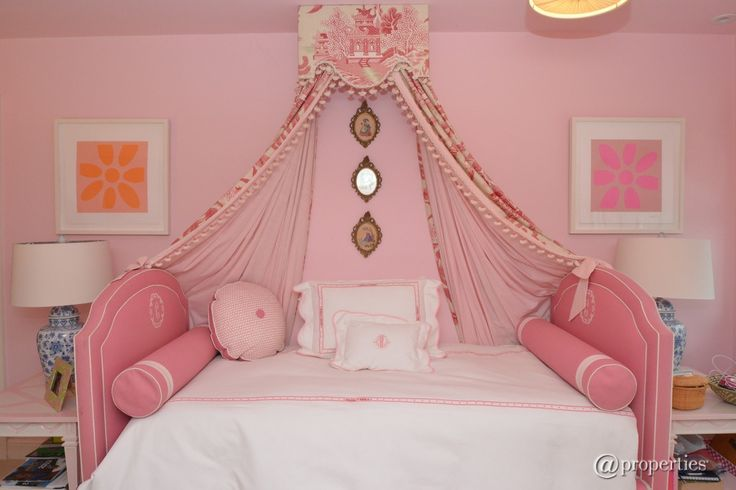 Traditional Kids Bedroom with Custom Upholstered Bed Crown, Rylan Slipcovered Headboard (Two Headboards), High ceiling