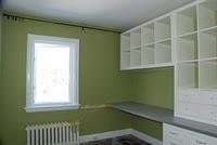 craft room: Offices Crafts Rooms, Adorable Diy, Officecraft Rooms, Offices Progress, Home Offices Makeovers, Diy Home, Crafts Roomoff, Diy Network, Rambl Renovation