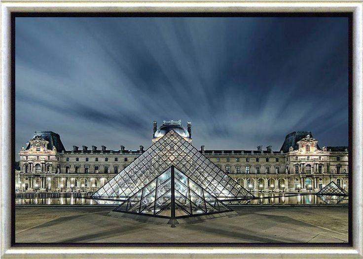 Premium Picture Schattenfugenbild »Glaspyramide im Louvre«, 76/56 cm Jetzt bestellen unter: https://moebel.ladendirekt.de/dekoration/bilder-und-rahmen/bilder/?uid=51a390df-1b56-5d54-a104-28afa7d9e55b&utm_source=pinterest&utm_medium=pin&utm_campaign=boards #zubehör #bilder #rahmen #dekoration