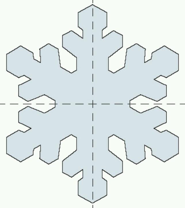 Patron Copo de Nieve … | Copos de nieve | Pinte…