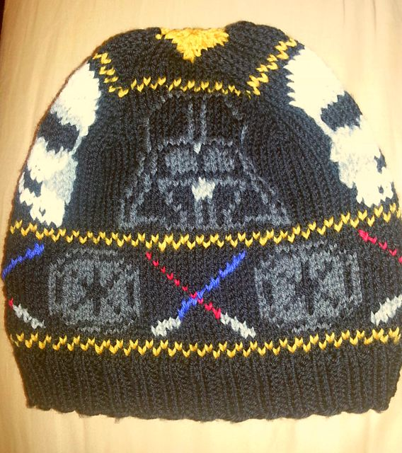 Free knitting pattern Empire Beanie and more Star Wars knitting patterns