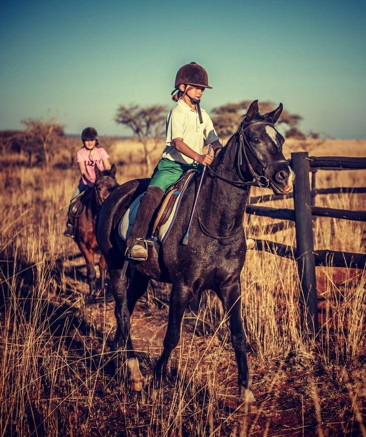 Kids horse trails