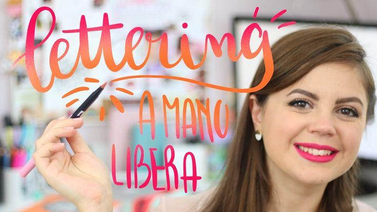 Come fare delle belle scritte a mano libera ✦ LETTERING ✦ e il mio CORSO...