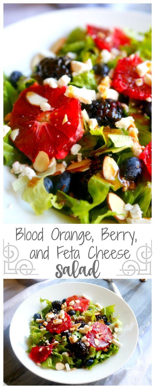 Blood Orange, Berry, and Feta Cheese Salad recipe – Jordan's Easy Entertaining