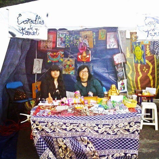 Wizard Lucky Shop: Puesto esotérico en  Feria Medieval El Álamo 2015