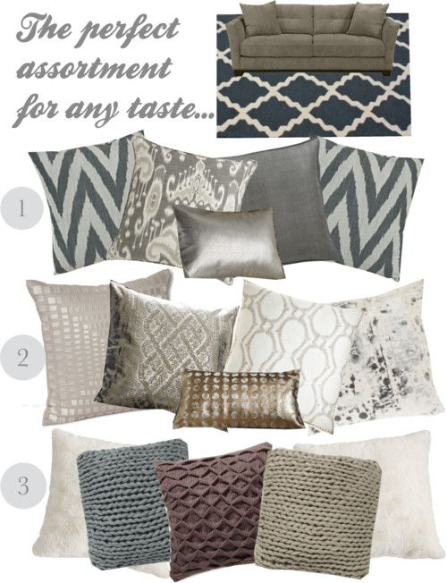 25 best ideas about couch pillow arrangement on pinterest - Ideas for decorative pillows ...