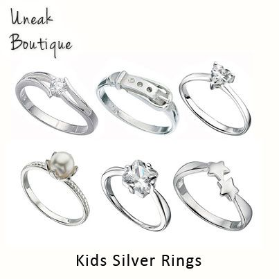 279 best cute kids jewellery images on pinterest grown up style sterling silver rings for girls boys negle Image collections