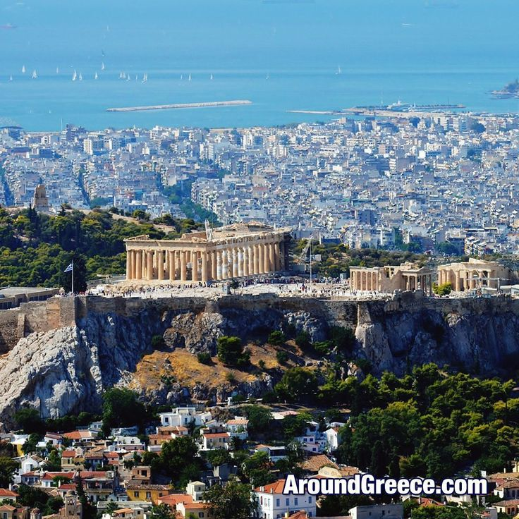 The Parthenon crowning the Acropolis of Athens  #Athens #Acropolis #Parthenon #Greece #holidays #history #tourism #travel #ancient #greek #archaeology #Αθηνα #Ελλαδα #διακοπες #ταξιδια #Ακροπολις