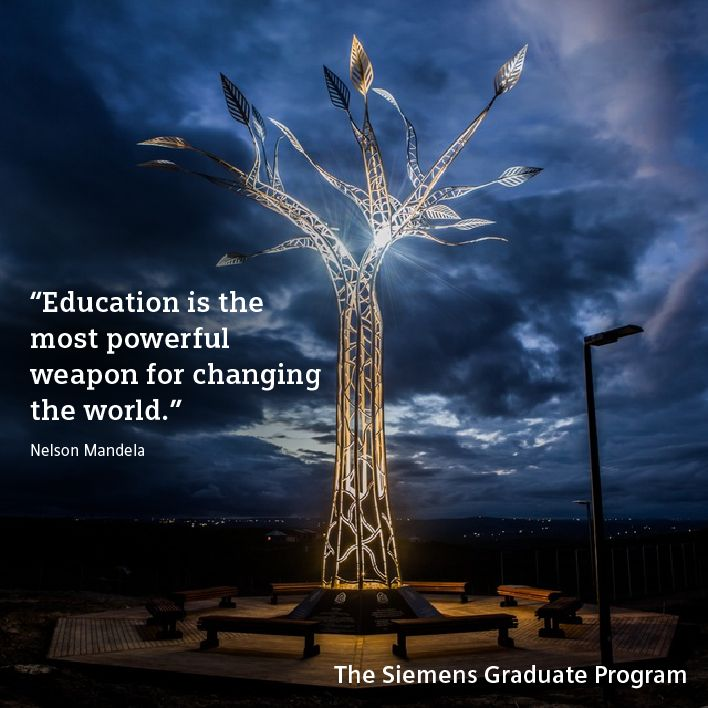 Show social commitment and contribute an individual part to the responsible actions Siemens takes for our society – as a member of The Siemens Graduate Program. http://www.siemens.com/jobs/apps/sgp/sm.html?stc=wwccc800087#education