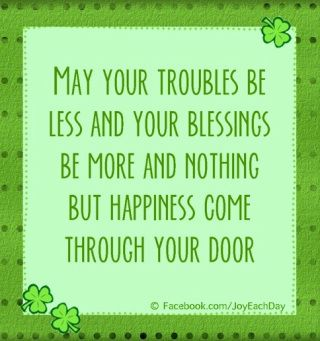 ST. PATRICK'S DAY QUOTES - http://catalogenvy.com/2014/02/21/st-patricks-day-quotes/