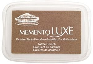 Memento Luxe TOFFEE CRUNCH Ink Pad Tsukineko ML-805