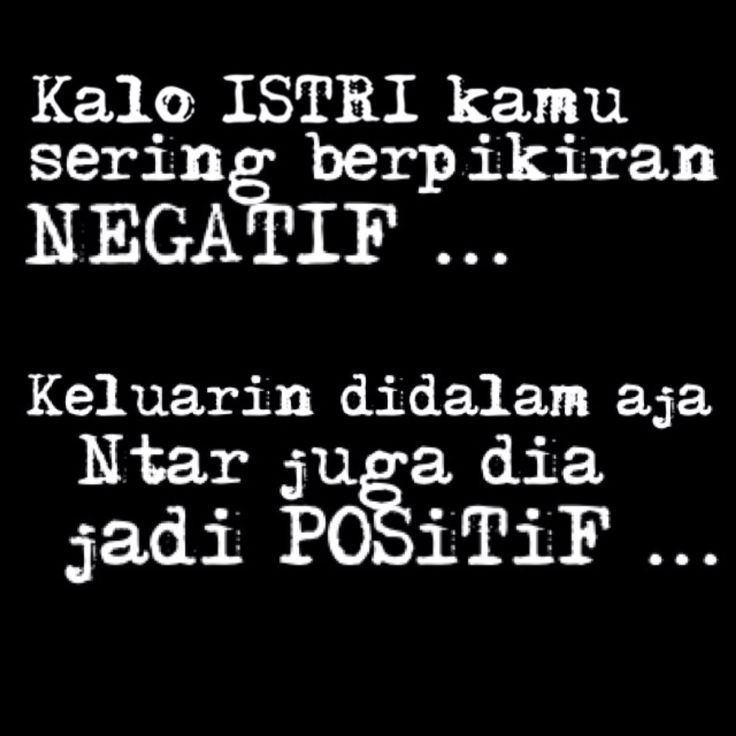 Negatif vs positif