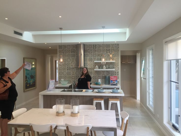 Kitchen From The Simonds Homes Amaroo Display House At