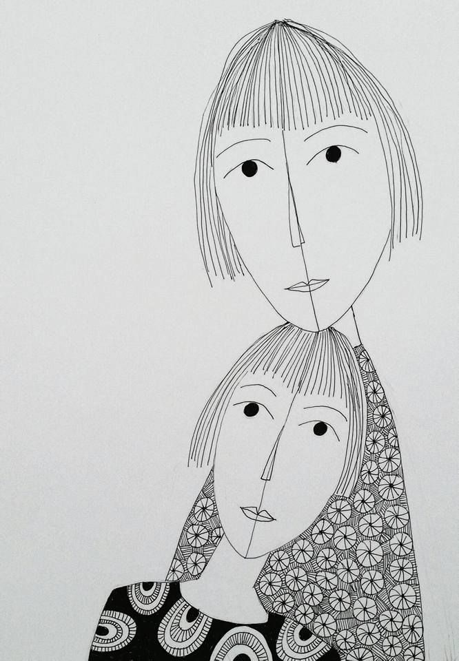 Lifeline. Illustration made by Bente Sandtorv