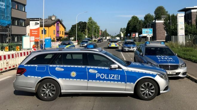 Armed attack on nightclub in Germany
