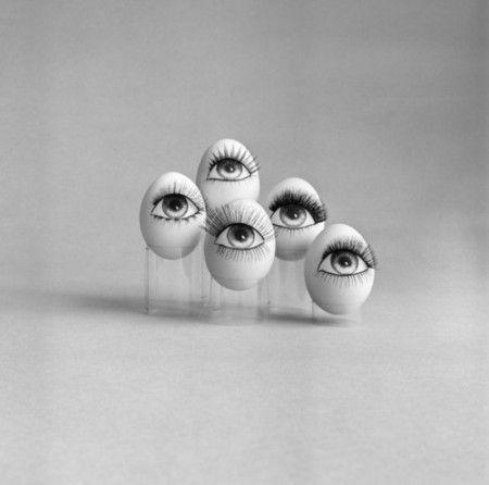 Bruno Benini - Eyelashes advertisement, ca 1960's. ☀