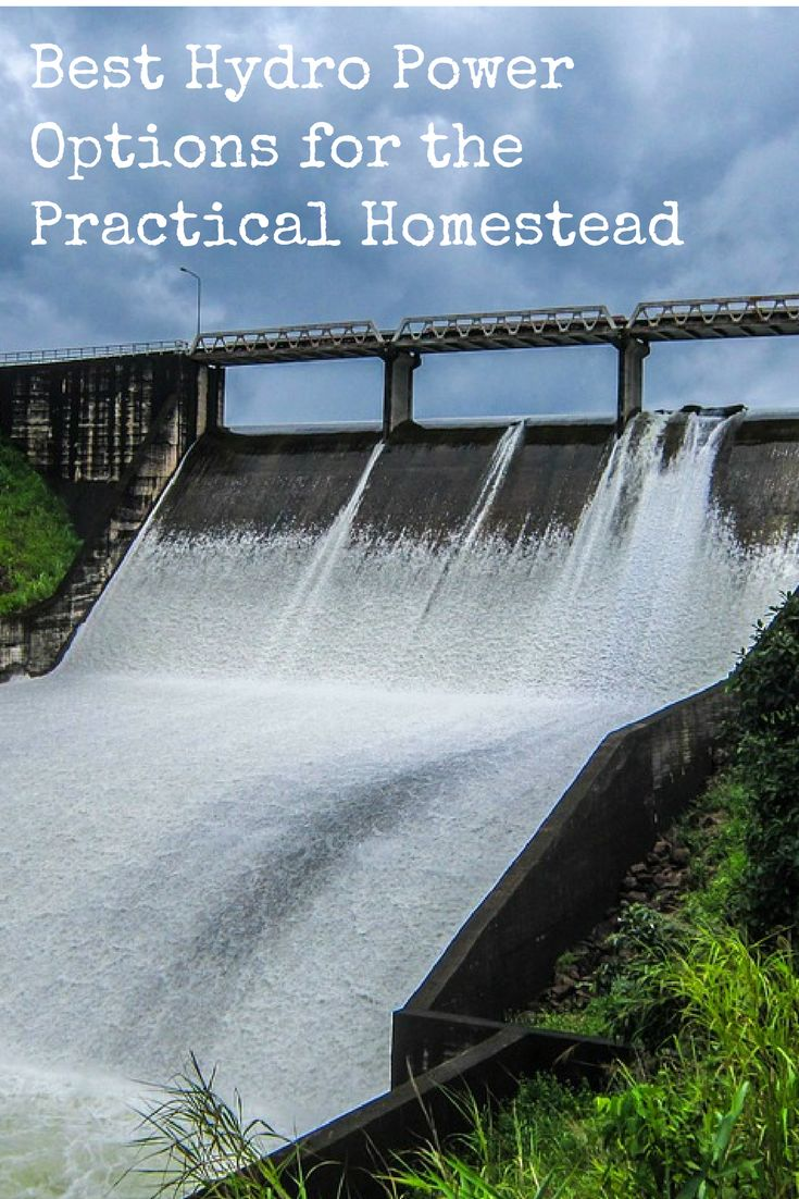 Hydropower is a great renewable energy resource to have going for you and your family. Here's how to go about setting up a DIY system yourself including all the tools you'll need or simply getting products that provide the full package!  Best Hydro Power Options for the Practical Homestead https://www.backdoorsurvival.com/best-hydro-power-options-for-the-practical-homestead/