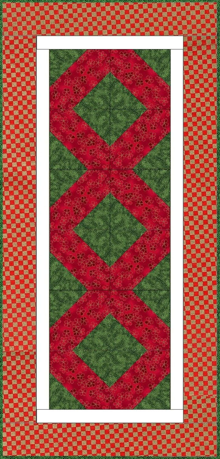 1000 ideas about quilted table runners on pinterest for Round table runner quilt pattern