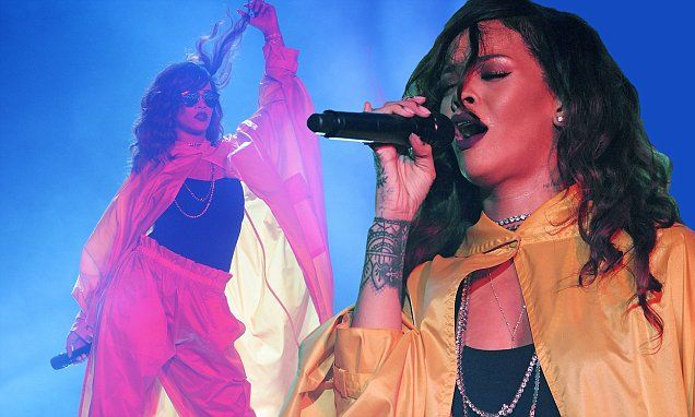 Rihanna gives a hair-raising performance at Rock In Rio festival