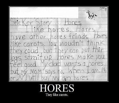 Innocent child's letter...and totally funny