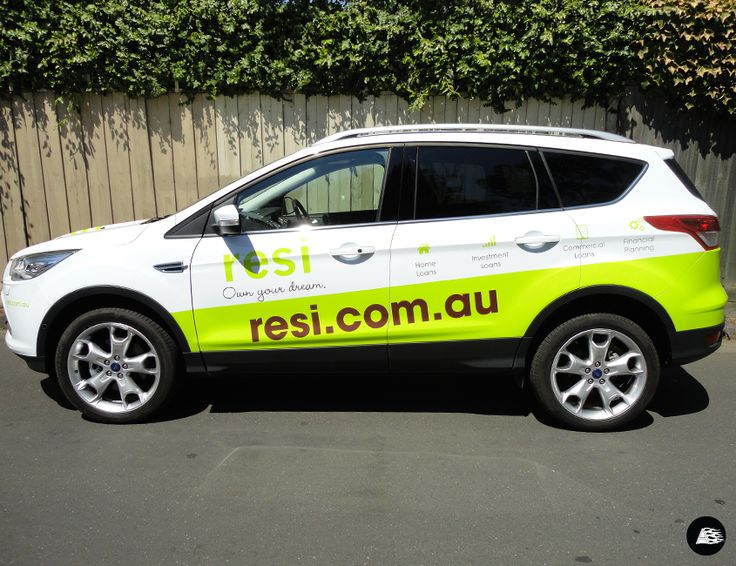Ford kuga partial vehicle wrap resi suv vehicle wrap