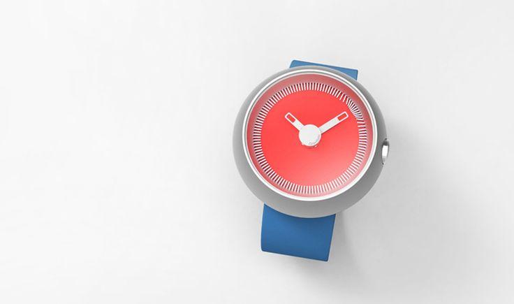 Gravitistic, del diseñador Jaemin Jaeminlee, recuerda el significado de la hora actual en lugar de decir la hora exacta del momento.