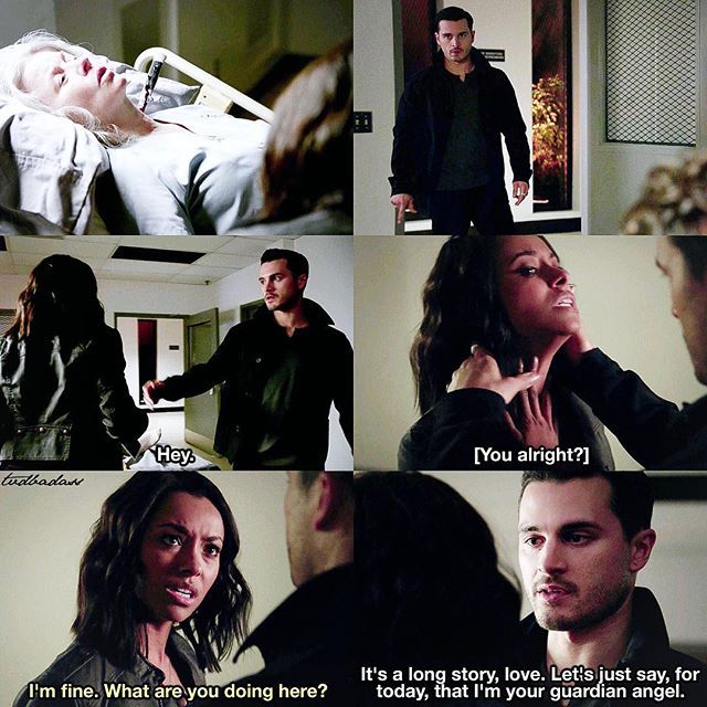 Tvd 7x12 Postcards From The Edge Bonnie And Enzo Tvd S7