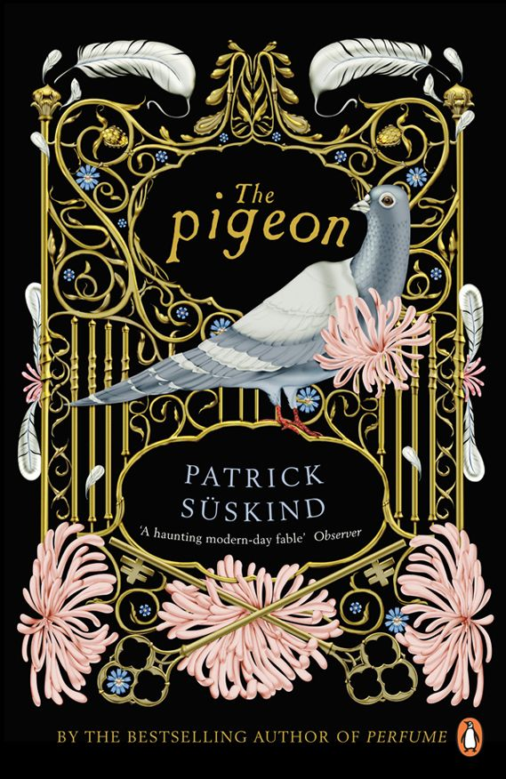 Creative Review - New covers for Süskind's dark tales-The pigeon, design by Klaus Haapaniemi.