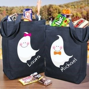 Personalized Ghost Treat Bag
