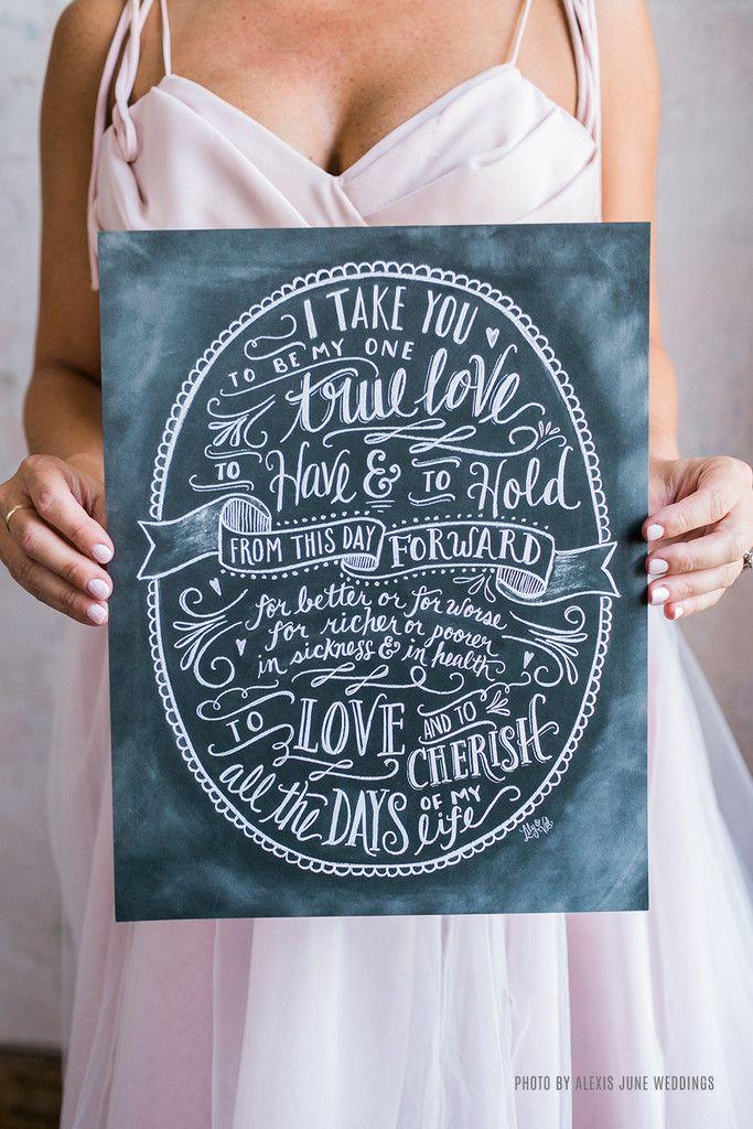Wedding Vows Print 672 best Wedding