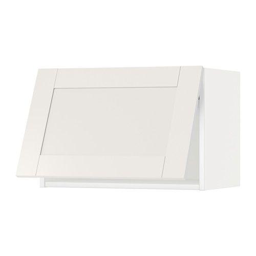 METOD Overskap horisontalt - hvit, Sävedal hvit, 60x40 cm - IKEA x 3, 495/stk