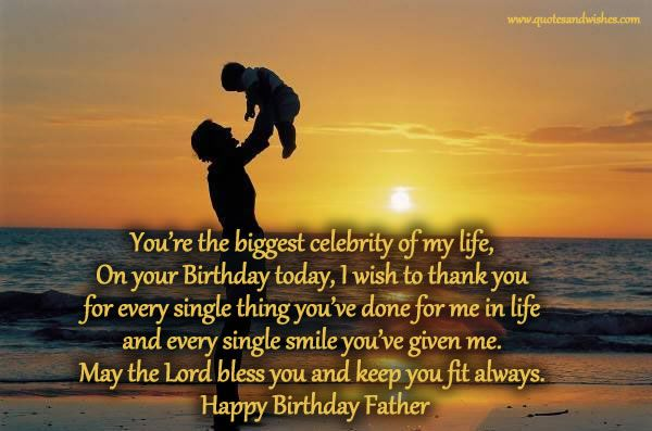 Happy Birthday Quotes For Dad #2