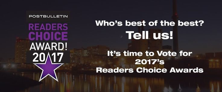 The voting is now open for the Post-Bulletin Readers Choice. For the last 3 years Shorewood Senior Campus has won the Post Bulletin's Reader's Choice Award for Favorite Senior Living Community. Please cast your vote for Shorewood as your Favorite Senior Living Community. VOTING ENDS AUG. 6.   Vote by clicking on the link below:  Postbulletin.com/readerschoice