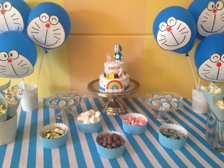 Mesa dulce Doraemon