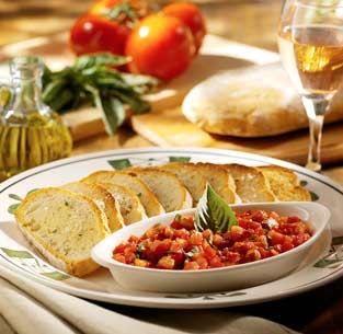 Hungry Martha's Recipe Vault: Olive Garden's Bruschetta