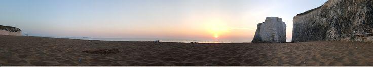 Botany Bay beach, Kent, sunrise June 19th 2017 by Gordon Bryan. . . #thegreatgordino #sunrise #botanybay #seascape