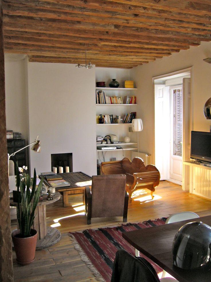 comedor estudio salon vintage decoracion via planreforma accesorios