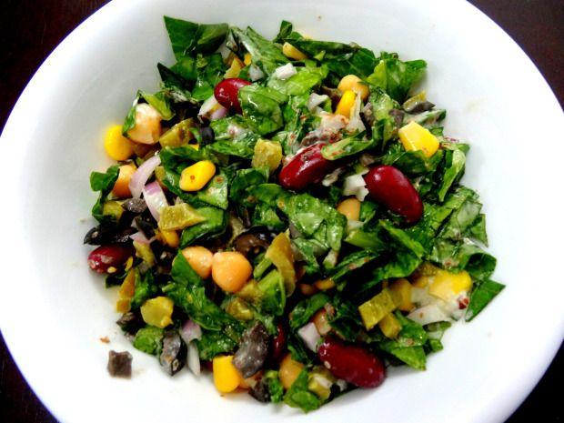 Protein-Rich Tasty Salad