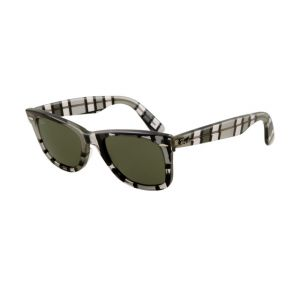 Plaid Ray Ban RB2140 Wayfarer Sunglasses Gray Dark and Light Frame Cry - $16 only!Ray outlet store.
