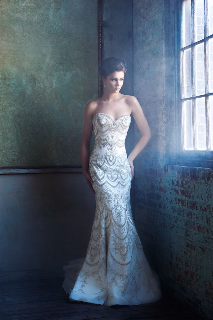 Wedding dress Great Gatsby style