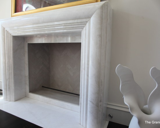 Frosted White Marble Fireplace Surround U0026 Hearth By The Granite Shop