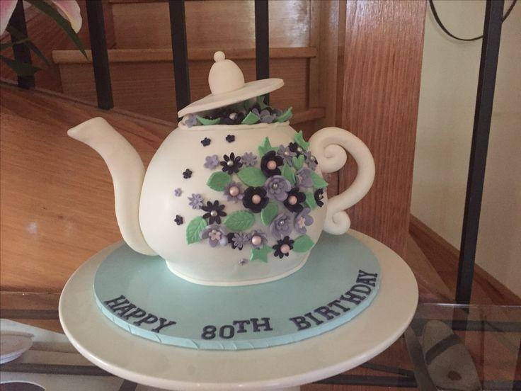Lovely teapot I made for a lovely lady!