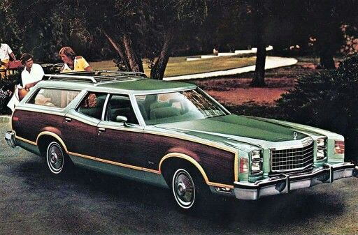 1977 Ford LTD Ii Squire