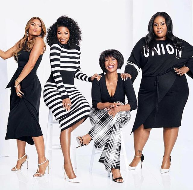 Being Mary Jane: Lisa, Vidal, Gabrielle Union, Margaret Avery & Raven Goodwin