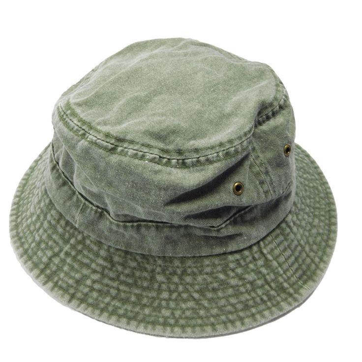 Dyed Twill Bucket Hat