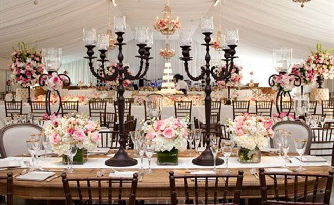 Vintage reception // photo: Chris Bailey Photography