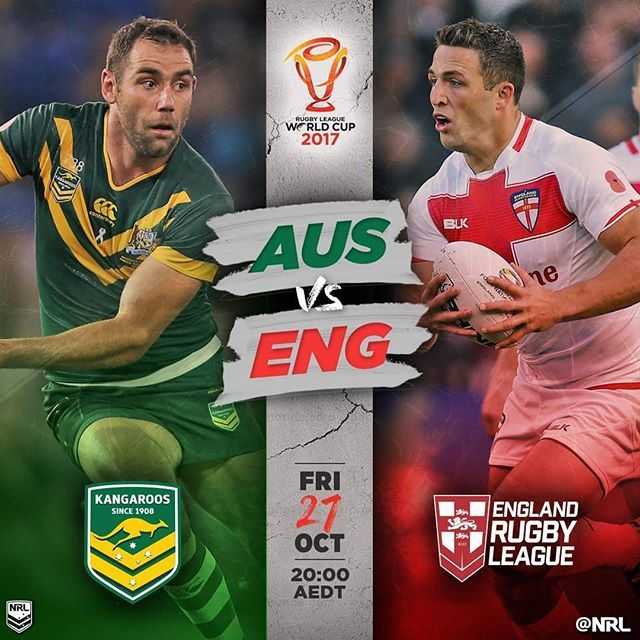 I am off to the opening of the #rlwc2017 #ausveng #rugbyleague #nrl #sports #aamipark #cheering #watching #barracking #melbourne #instamelbourne #instadaily #health #fitness #wellbeing #wellness #instahealth #instafitness #alliedhealth #softtissuetherapy #fitfam #instafit #kangaroos