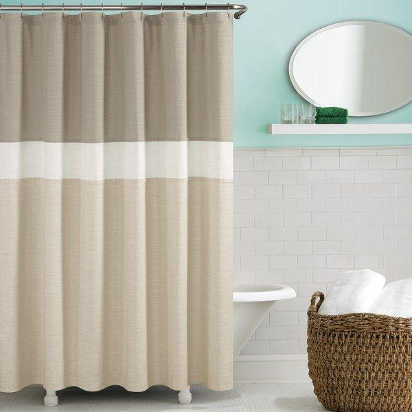 Kate Spade Spring Street Shower Curtain - Fresh Cream - Bed Bath & Beyond